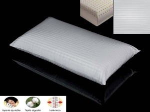 Almohada Mash de Latex con doble funda
