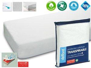 Protector Colchón Cuna Rizo Transpirable Velfont