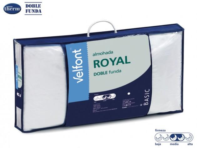 Almohada de Fibra Royal de Vlefont