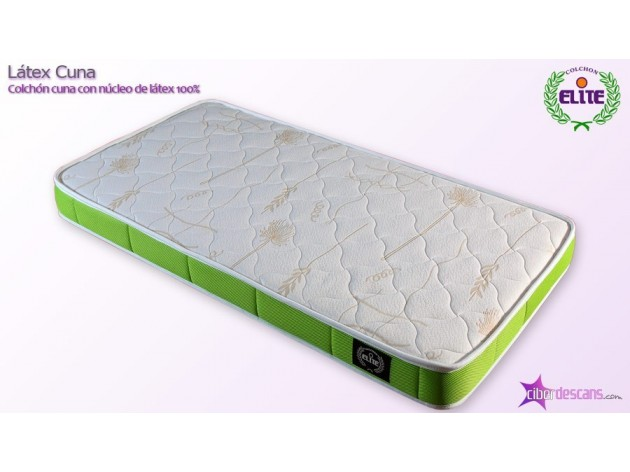 Colch n latex para beb s tama o de cuna con tejido 3d transpirable - Colchon de latex precios ...
