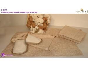 Alfombra Baño Algodón Ecológico Cotó