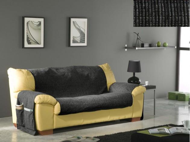 Funda de Sofa de 2 Plazas Chenilla de Eysa C12