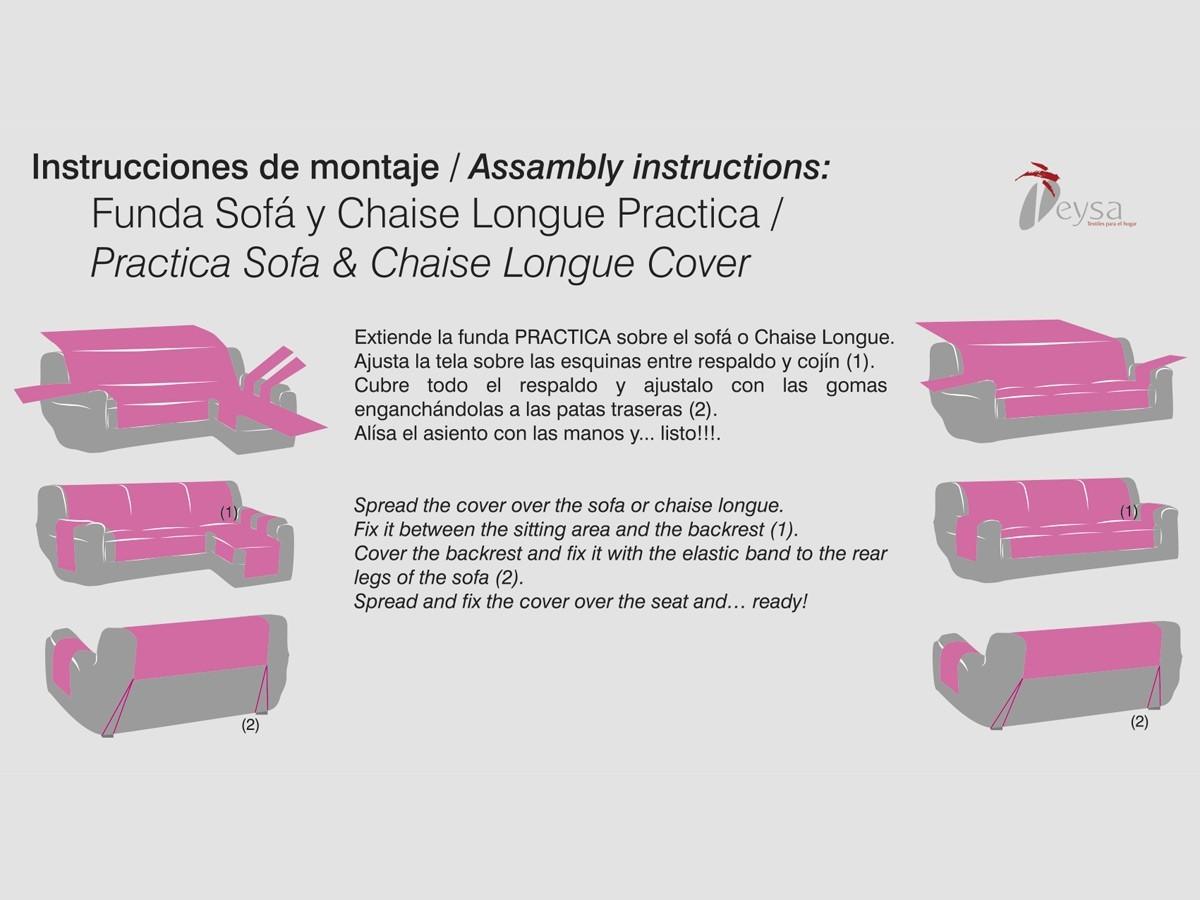 Comprar funda practica de sillon o sofa de 1 plaza chenilla de eysa - Donde comprar fundas de sofa ...