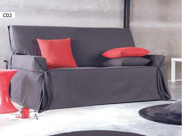 Funda de Sofa Universal Plus de Eysa C02 negro