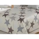 Cubrecamas beige Estrellas de Confecciones Paula