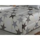 Comforter gris  Estrellas de Confecciones Paula