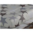 Edredón Ajustable beige Estrellas de Confecciones Paula
