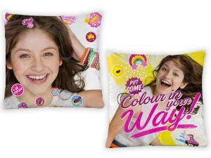 Cojin infantil con relleno Soy Luna Love de Gamanatura