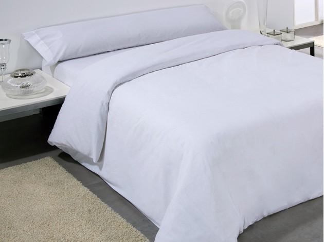 Funda nordica blanca de algodon para hosteleria - Funda nordica blanca ...