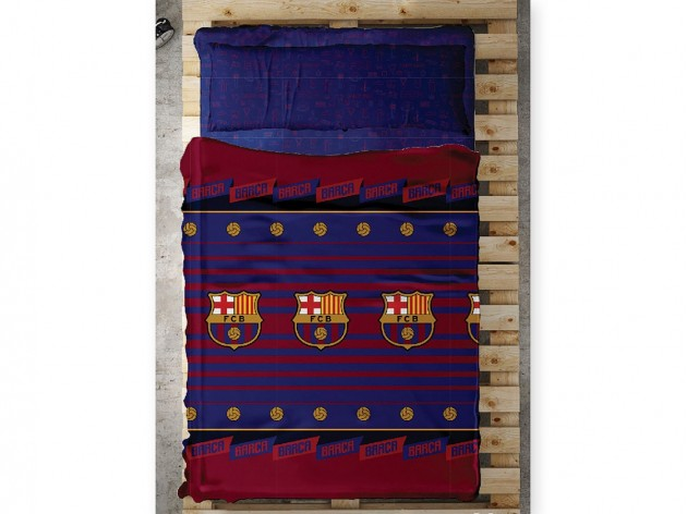 Sábanas del FC Barcelona Balón