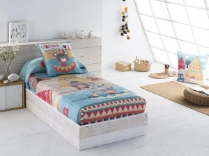 Edredón Ajustable Infantil Indi de JVR, algodón percal