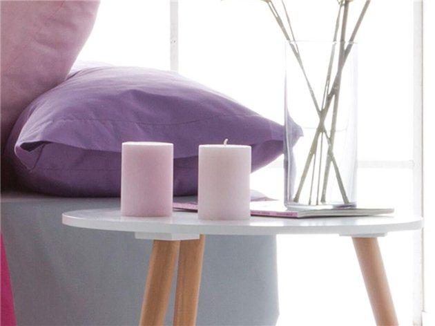 Funda de Almohada Lisa Basic de Confecciones Paula lila