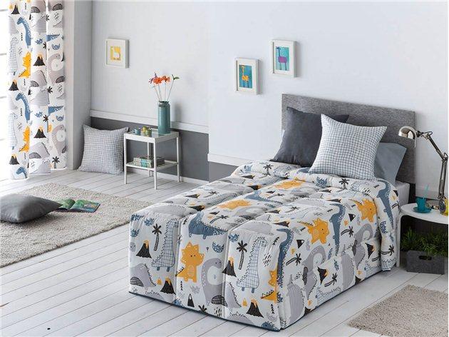 Edredón Comforter Infantil Dinos de Confecciones Paula