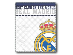 Plaid Real Madrid Emblema
