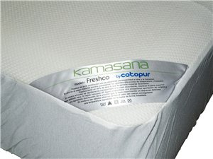Cubrecolchón Freshco Impermeable Transpirable
