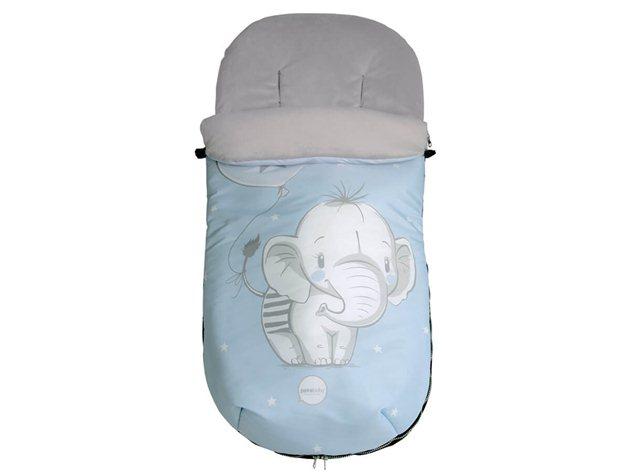 Saco Universal Silla Paseo Elefantino Pekebaby azul