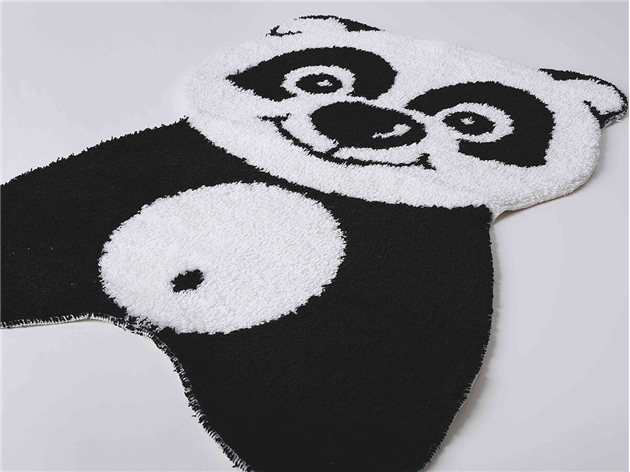 Alfombra Baño Infantil Panda Sorema