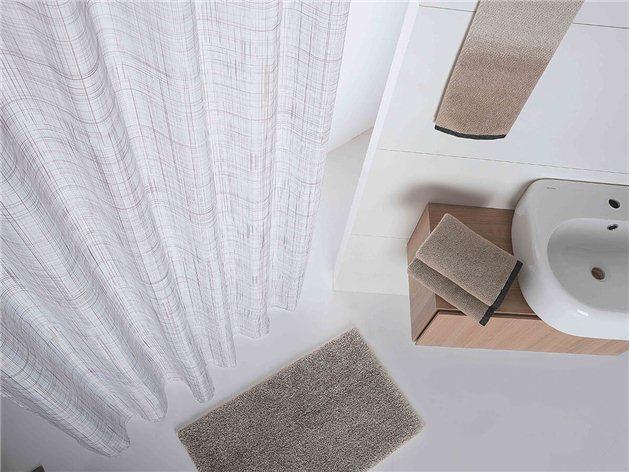 Cortina Baño Mix de Sorema color arena