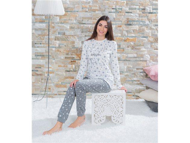 Pijama Mujer Invierno Algodón Celia
