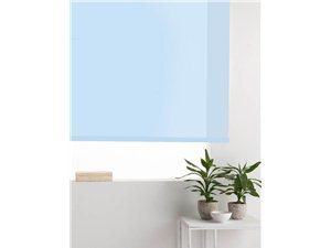 Estore Enrollable Basic Liso azul