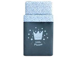 Dúo Nórdico Pekebaby Little Crown azul