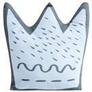 Cojín Forma Little Crown azul Pekebaby