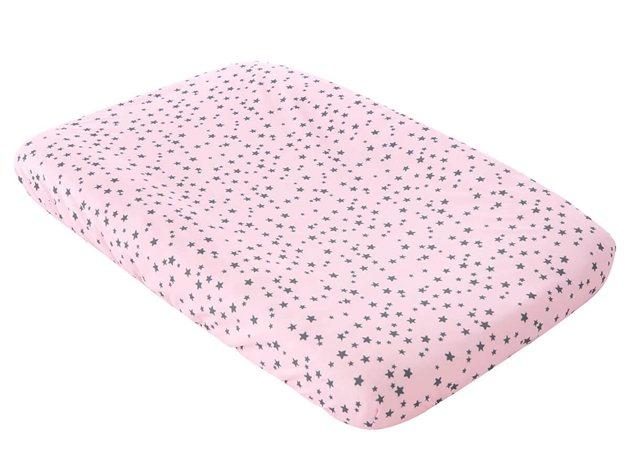 Funda Cambiador Bebé Little Crown rosa