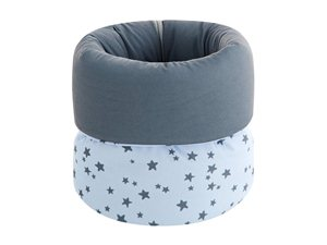 Canastilla Bebé Little Crown Pekebaby azul