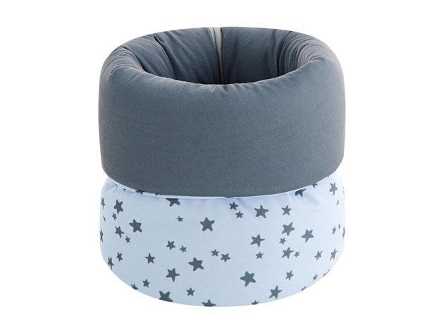 Canastilla Bebé Little Crown Pekebaby azul