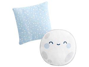 Cojines Bebé Good Night azul con relleno