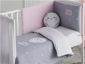 Pack Funda Nórdica Colección Good Night rosa