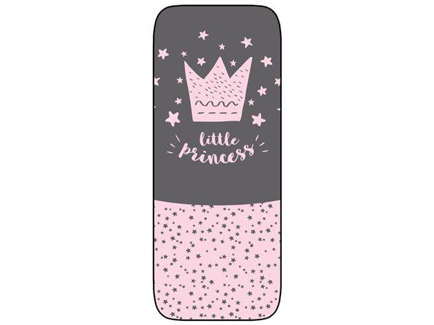 Colchoneta Silla Paseo Ligera Little Crown rosa