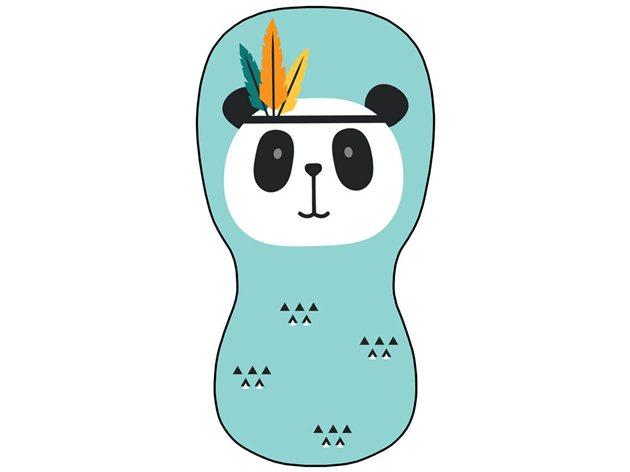 Colchoneta Universal Transpirable Panda Silla Paseo