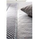 Comforter jacquard Corinto gris de Confecciones Paula