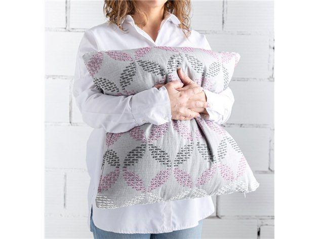 Funda de Cojín Brisa de Confecciones Paula rosa