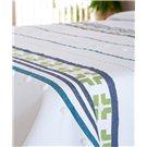 Cobertor Antalia para Verano color azul