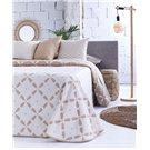 Cobertor de verano reversible Moana beige