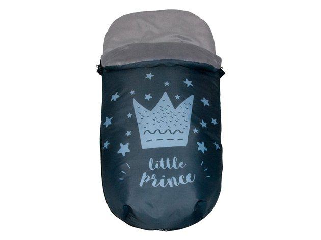 Saco Universal Silla Paseo Little Crown azul