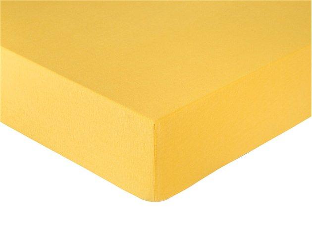 Sábana Bajera amarilla Punto Basic de Confecciones Paula