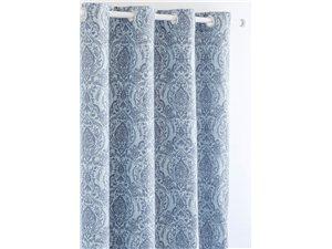 Cortina Confecciones Paula Irún azul