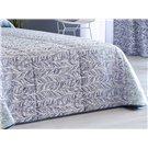 Cobertor jacquard azul Teide