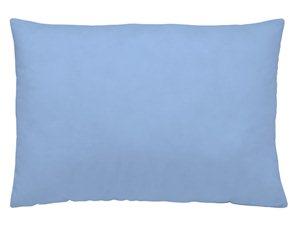 Funda de Almohada Lisa Naturals azul (claro)