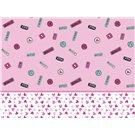 Tela rosa para Cortinas Candy