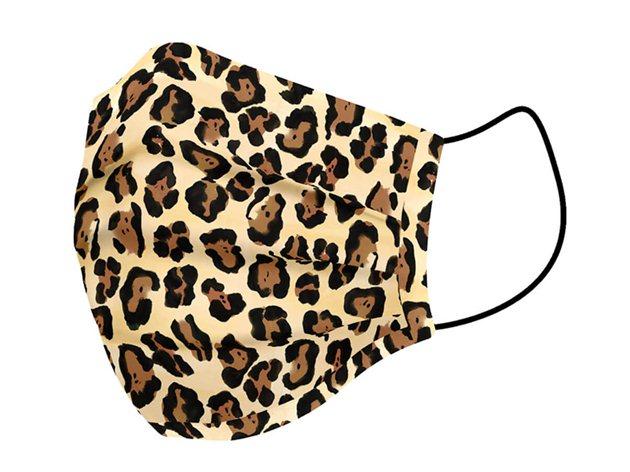 Mascarilla Higiénica Lavable Leopard Euromoda