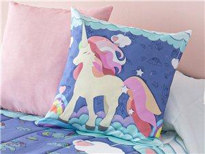 Cojín de regalo con la Colcha Unicornio