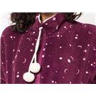 Pijama Térmico de Mujer Rubí con pompones