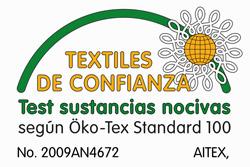 Certificado Öko Tex Pirulos Ciberdescans