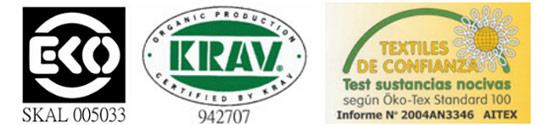 Calidad y proceso de fabricacion del algodon ecologico Ecoterry certificados