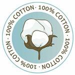 Almohada Pangea S con funda exterior de algodón