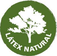 Almohada con nucleo de latex 100% natural y orgánico respetuosos con el medio ambiente